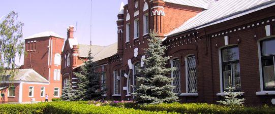 Здание бывшего госпиталя
