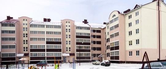 Новостройка по ул. Советская