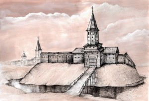 Реконструкция Клецкого замка