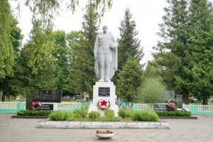 Памятник погибшим воинам в д.Кухчицы